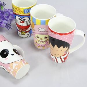 High Quality Custom 14oz Ceramic Mug with Silicon Lid pictures & photos