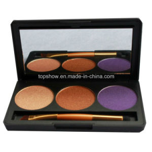 Print Logo on Available 2016 Hot Sell 3 Color Long-Lasting Waterproof Matte Makeup Eyeshadow Palette G3#1, G3#2, G3#3, G3#4, G3#5