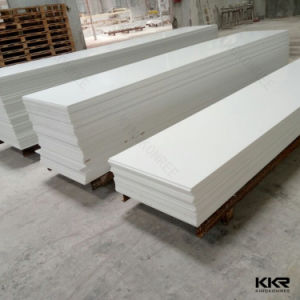 12mm Countertop Slabs White Acrylic Solid Surface Corian pictures & photos