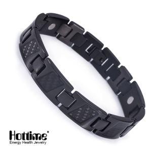 Hottime Carbon Fiber Ta2 Titanium Bracelet with Good Quality pictures & photos
