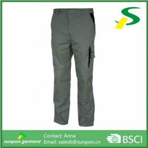 Black Work Trousers Polycotton Work Trouser Multi Pocket Work Pants pictures & photos