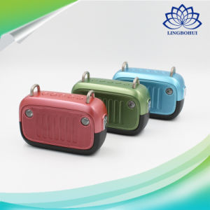 Waterproof Level Ipx6 Bluetooth Wireless Stereo Loudspeaker pictures & photos