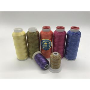 Shanfa Multi-Color Rayon Embroiery Thread pictures & photos