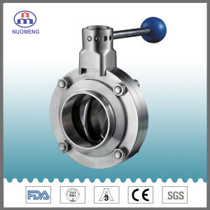 Stainless Steel Manual Welded Butterfly Valve (IDF-No. RD0212) pictures & photos