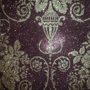 Special Design Glitter Synthetic PU Leather for Shoes, Bags, Furniture, Decoration, Garment (HS-Y112) pictures & photos