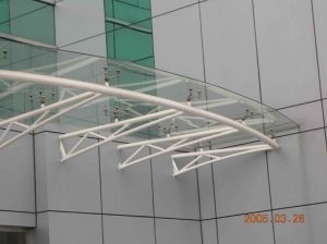 Roofing Steel Structure Canopy for Building pictures & photos