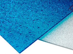 Big Granule Diamond Polycarbonate Embossed Sheet for Skylight Roofing pictures & photos