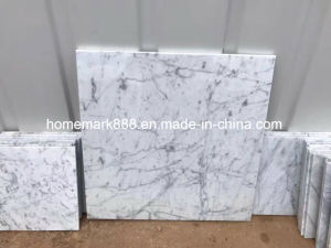 Carrara White Marble Tile, Carrara Marble, White Marble Tile pictures & photos