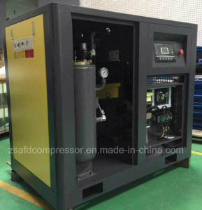 132kw/175HP Double Stage High Efficiency Twin-Screw Rotary Air Compressor pictures & photos