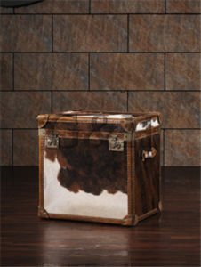 Leather Vintage Decorative Storage Trunk pictures & photos