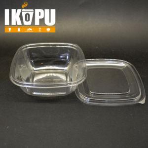 Wholesale Plastic Containers Large Transparent Salad Bowl Plastic pictures & photos
