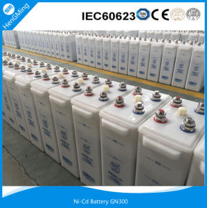 Ni-CD Rechargeable Alkaline Battery/ Ni-CD Battery Gn300- (3) for Metro, Subway, Railway Signaling. pictures & photos