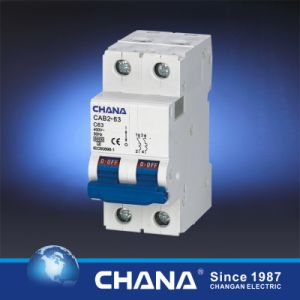 6ka Current up to 63A Mini Circuit Breaker with CB Ce TUV Approvals pictures & photos