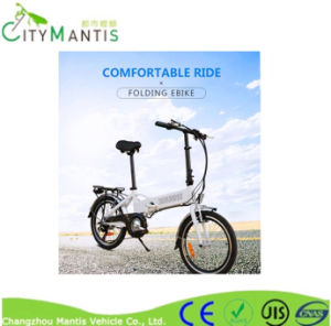 Folding Electric Bike/High Speed City Bike/Electric Vehicle/Long Life Electric Bicycle/Lithium Battery Vehicle pictures & photos