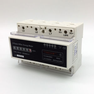 Dts-4r DIN Rial Energy Meter pictures & photos