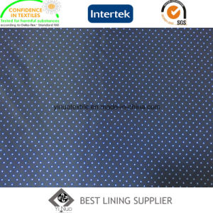 Winter Coat Lining Small DOT Pattern Printed Lining Fabric pictures & photos