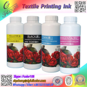 T-Shirt Printing Textile Inks for R2000 Flatable Printer White Ink for Dx5 pictures & photos