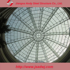 High Quality Long Span Dome Skylight Steel Frame Structure Roofing pictures & photos