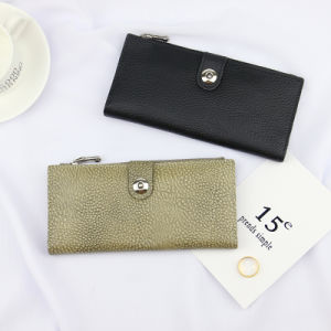 Wholesale Real Lelather Metal Shinny Women Clutch Wallet for Party (BDX-161011) pictures & photos