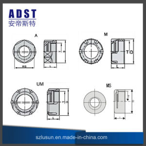 High Quality Er Nut Fastener Nail CNC Machine Tool pictures & photos
