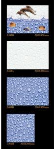 Inkjet Interior Wall Tile Porcelain Tile for Washroom Decoration 300X450mm pictures & photos
