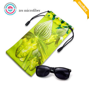 Wholesale Microfiber Hot Stamping Sunglasses String Bags pictures & photos