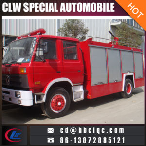 Good Condition 2000gal Fire Extinguish Truck Dongfeng Fire Fighting Vehicle pictures & photos