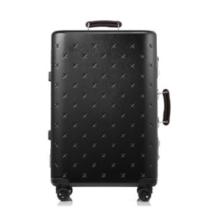 Magllu Luggage Travel Set Bag ABS+PC Trolley Suitcase Black pictures & photos