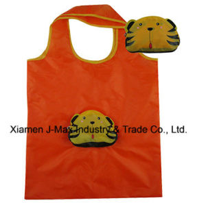 Foldable Shopper Bag, Animal Tiger Style, Reusable, Lightweight, Promotion, Accessories & Decoration, Handy, Gifts & Grocery Bags pictures & photos