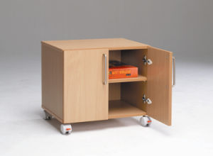 6711 Twin Multi-Purpose Wooden Document Cabinet for Office pictures & photos