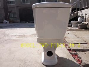 3#-2 Separate/Two-Piece Washdwon Ceramic Bathroom Toilet in Sanitary Ware pictures & photos