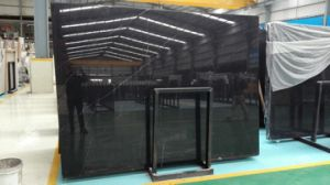 China Black Nero Marquina Marble Slabs, Tiles pictures & photos