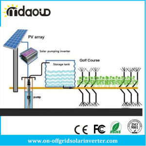 MPPT Function Three Phase 22kw Solar Irrigation Pump System for Farm pictures & photos
