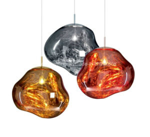 Acrylic Iron New Design Pendant Lamp Stone Type Chandelier pictures & photos
