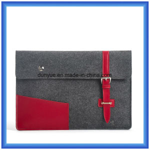 "Eco-Friendly Portable 3mm Wool Felt Laptop Briefcase Bag, Customized Promotion Laptop Sleeve for 13"" Laptop pictures & photos"