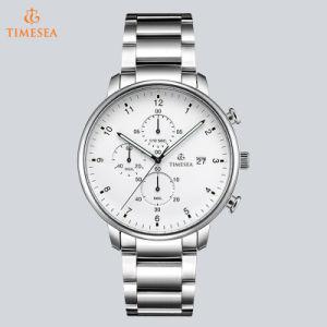 Elegant Stainless Steel Quartz Chronograph Watch Men′s Sports Watch 72710 pictures & photos
