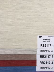 New Arrival Blockout Roller Blind Fabric Rb2117 Series pictures & photos