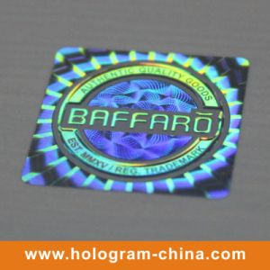 Silver Tamper Proof Pet Security Hologram Label pictures & photos