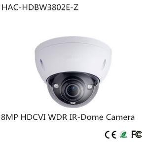 Dahua 8MP 4K Hdcvi WDR IR-Dome Camera (HAC-HDBW3802E-Z) pictures & photos