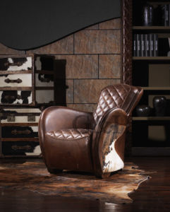 Leather Equestrian Saddle Chair pictures & photos