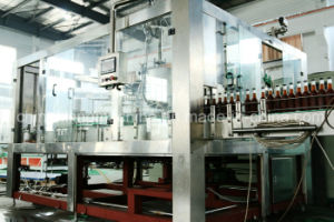 Automatic Glass Bottle Drinking Filling Machinery Production Line with Ce pictures & photos