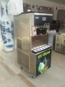 Touch Screen Good Quality Commercial Soft Ice Cream Machine pictures & photos