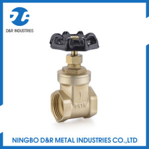 Control Brass Gate Valve Pn16 pictures & photos