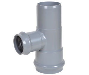 PVC Pipe Fitting Two Faucet and One Insert Reducing Tee pictures & photos