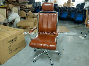 Black Leather Modern Office Chair Manager Office Chair (FOH-8083A) pictures & photos