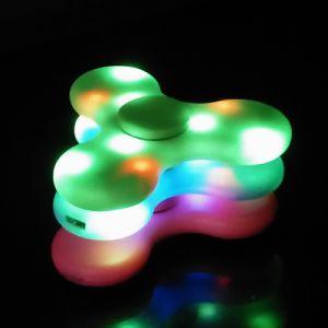 Bluetooth Speaker LED Light Flash Toy Cube Tri Fidgit Finger EDC Anti Stress Adult Kid pictures & photos