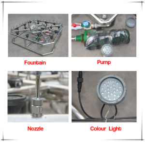Can Be Customized Indoor or Outdoor Garden Fountain for Decoration (1.5m 2m 3m) pictures & photos