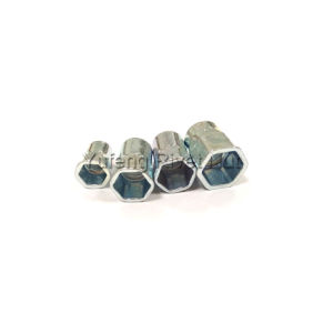Carbon Steel Small Head Inside and Outside Hexagonal Rivet Nut Surface Treatment Zinc Plated pictures & photos