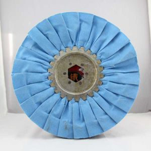 Blue Cloth Polishing Wheels Manufacturer pictures & photos