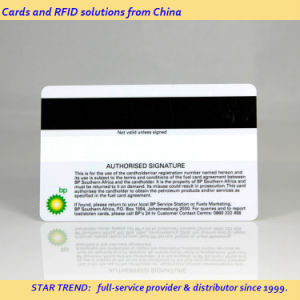 Printed PVC Magnetic Stripe Card for Fuel Card pictures & photos